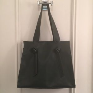 NWT faux leather French Connection tote